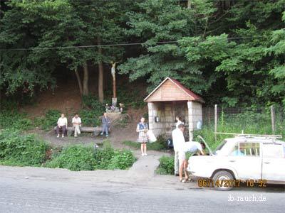Heilige Quelle in Bukove