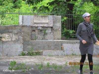 Brunnen im Dorf Mindlyubov