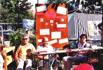 Auf dem 9. Multikulturelles Straßenfest am 21.8.2010