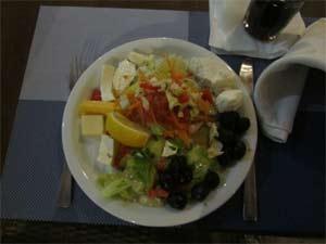Mittagessen mit viel Gemüse