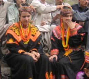 Frauen aus den Chunza-Tal