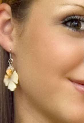 Gesicht mit schöner Haut