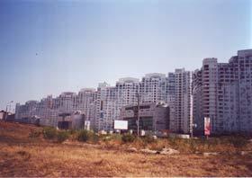 Kiew ist eine große Baustelle.