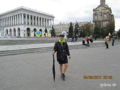 Auf dem Maidan in Kiew 2017
