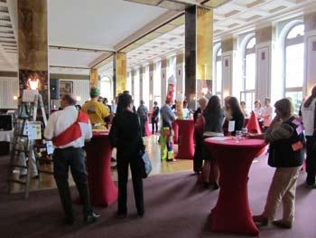 Der Veranstaltungsaal im Ring-Café