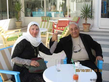 Mit tunesischen Freunden