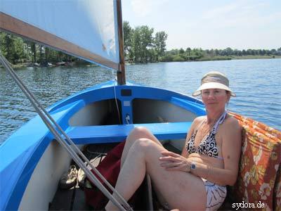 Segel auf dem Kulkwitzer See