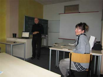 Vortrag zu Wasser als Lebensmittel von Peter Rauch PhD