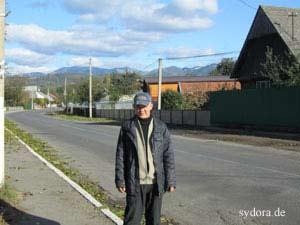 Peter Rauch in Transkarpatien