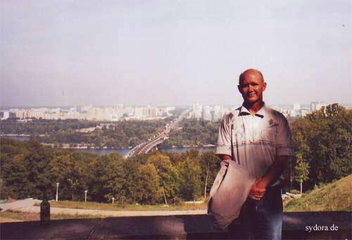 Peter Rauch in Kiew (Ukraine)