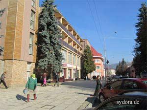 Wohngebäude in Rachiv