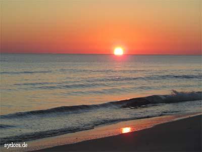 Sonnenaufgang am Mittelmeer Djerba