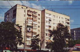 Älteres Mehrfamilienhaus in Vinnitsa (Ukraine)